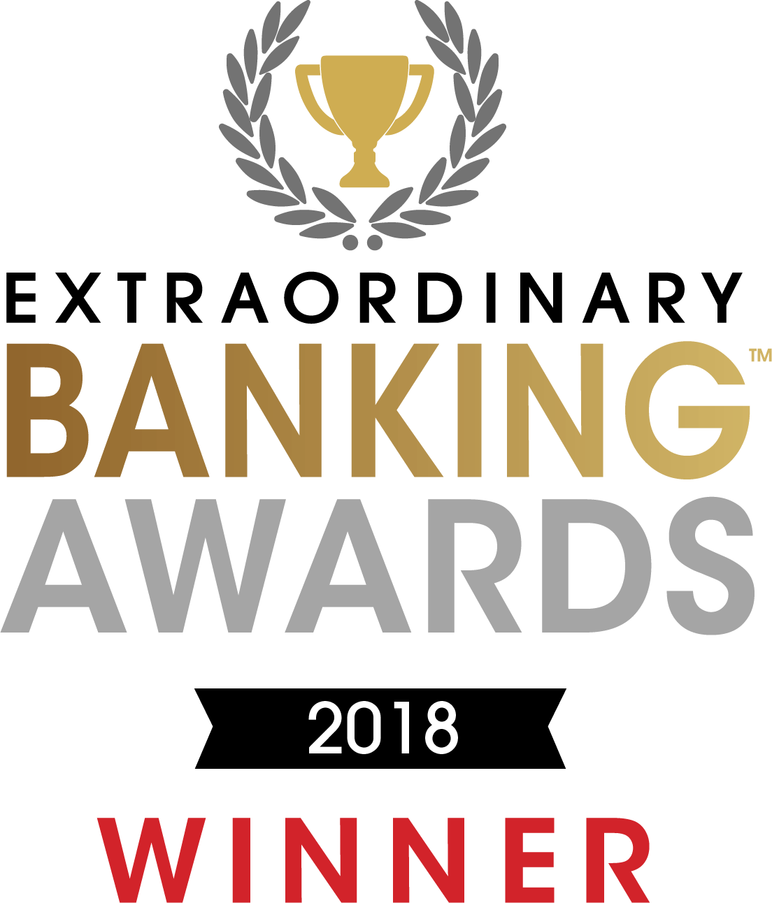 Extraordinary Banking Awards Winner 2018