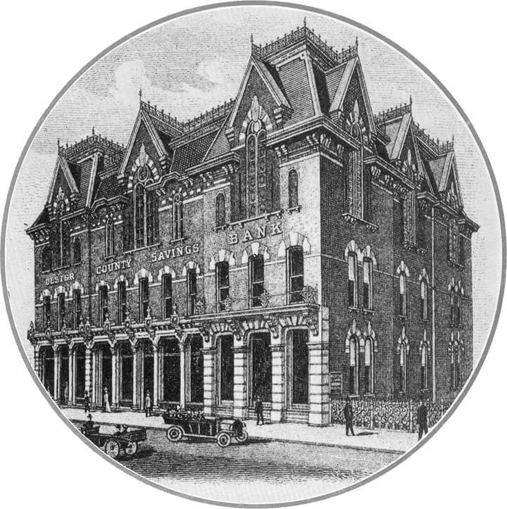 1851 Bank Illustration
