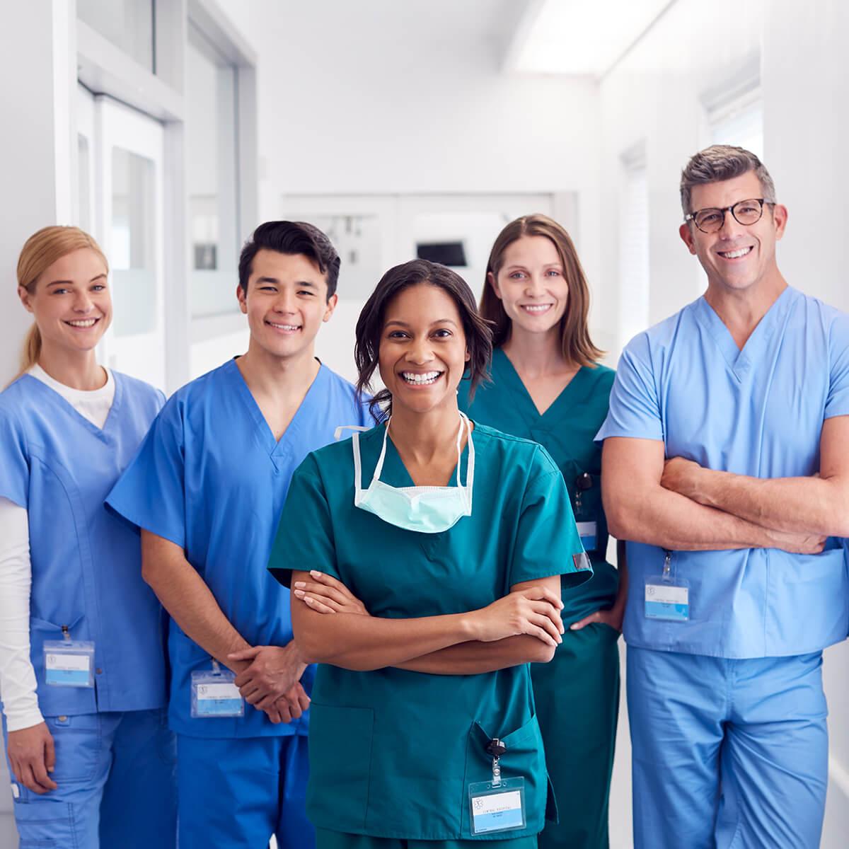 trabajadores de atención de la salud