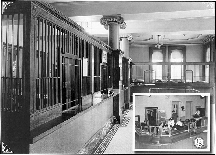 Old Wall Street Branch Photo