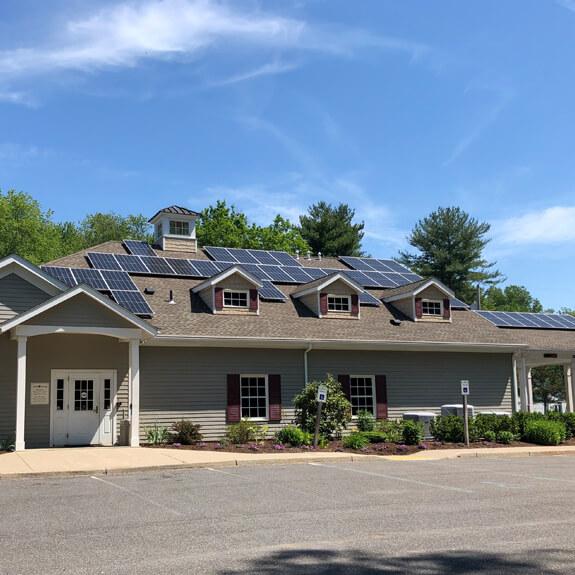 Paneles solares en Rek Hook
