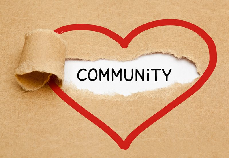 Heart with Community