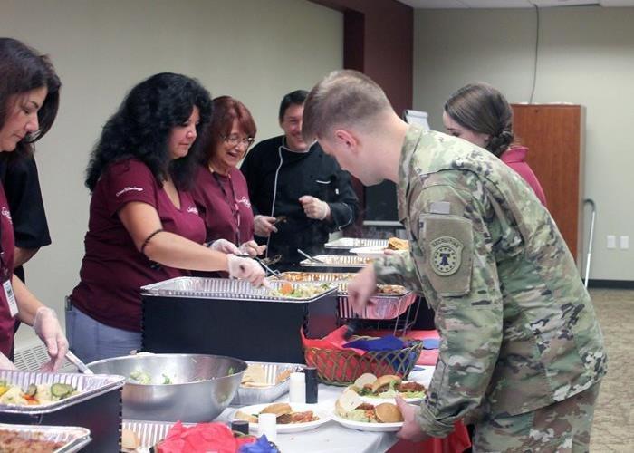 Almuerzo para veteranos